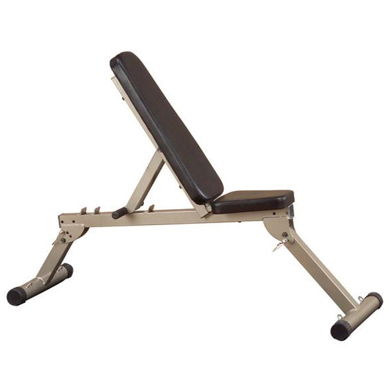 BEST FITNESS - Banc incliné décliné pliable