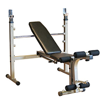 Bancs de musculation Banc Home Olympique pliable