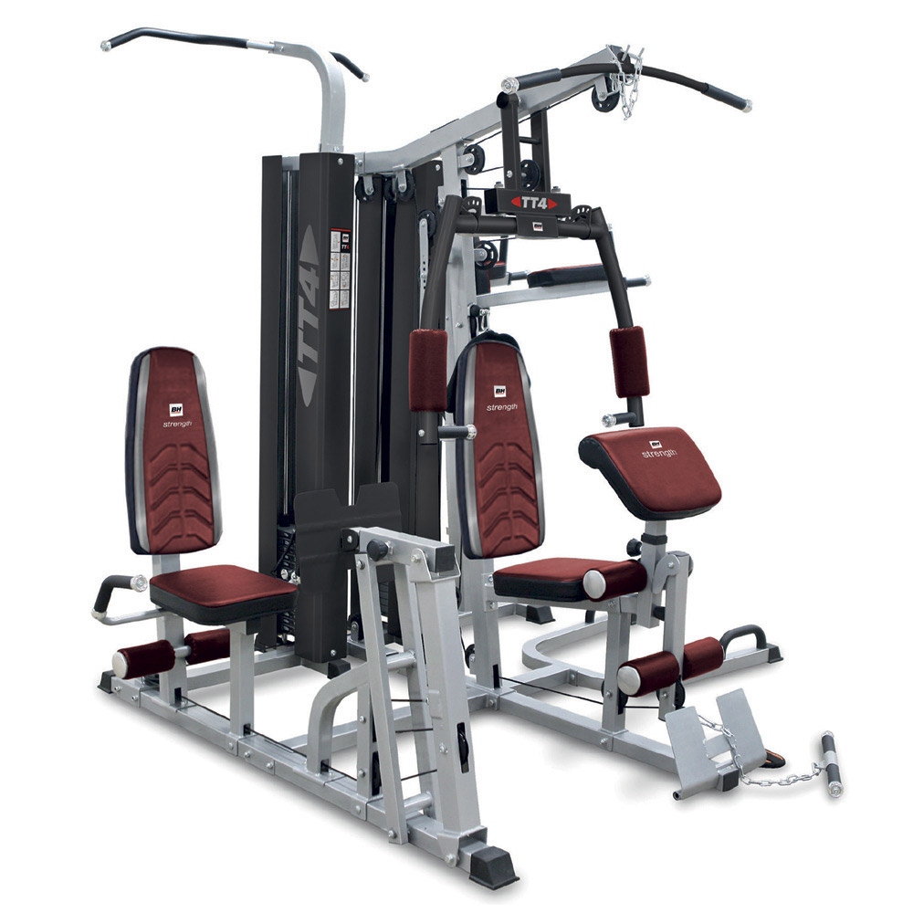 bh fitness tt 4 presses de musculation. Black Bedroom Furniture Sets. Home Design Ideas