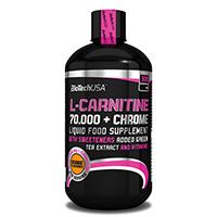 BIOTECH USA L Carnitine 70000 Chrome