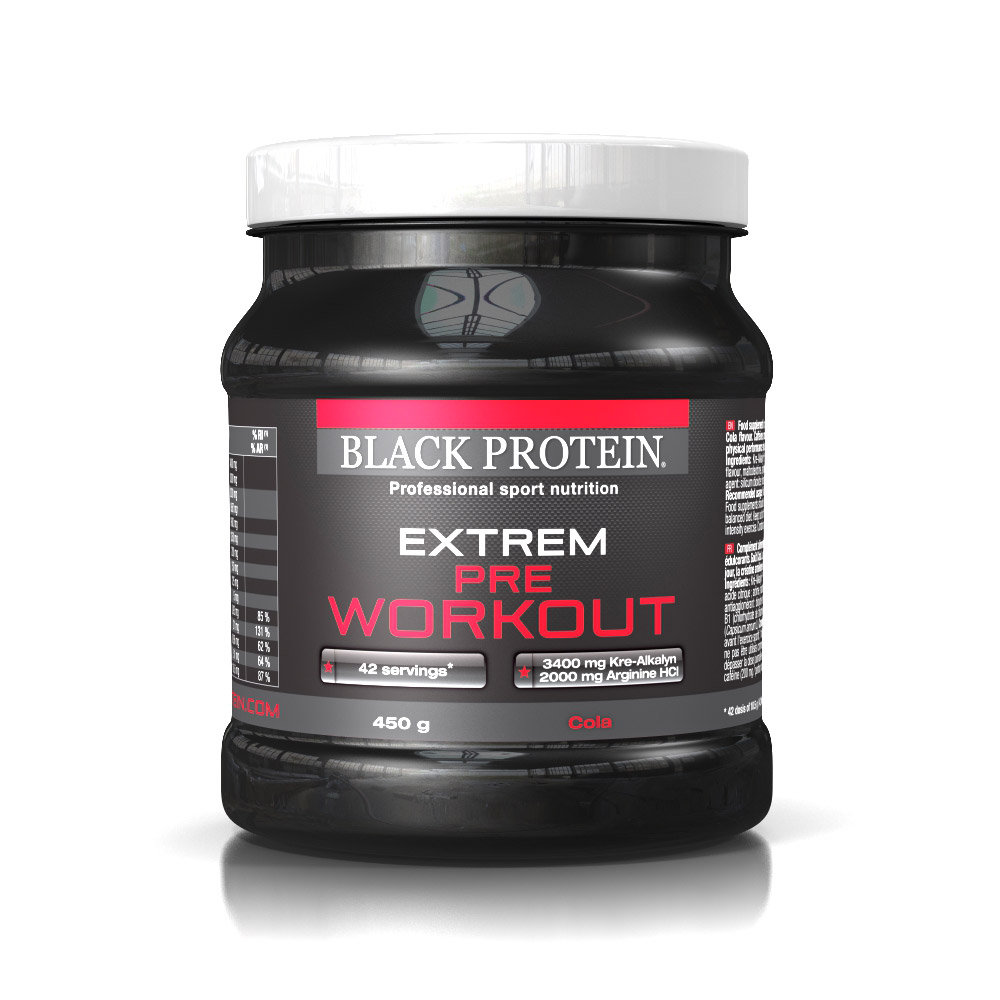 BLACK-PROTEIN - Extrem Pre WorkOut