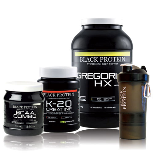 BLACK-PROTEIN - Pack Prise de Masse 13