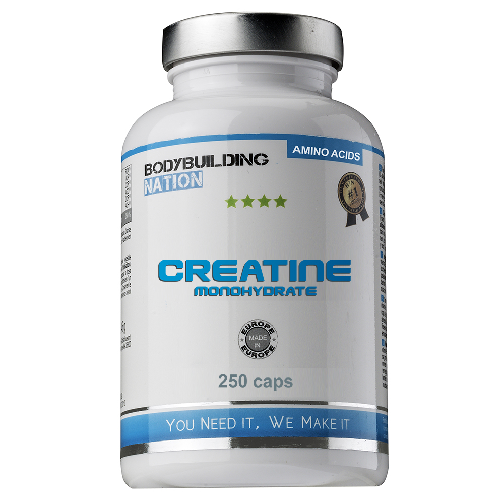 BODYBUILDING NATION - Creatine Monohydrate