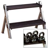 BODYSOLID Ketlebell Rack Reversable For Hex