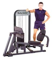 BODYSOLID Leg Press W/210LB Stack Presse à Cuisse Guidée
