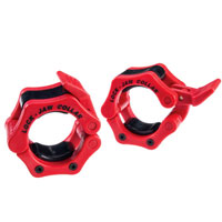 BODYSOLID Olympic Lock-Jaw Collar Red