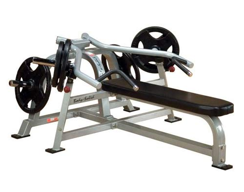 BODYSOLID CLUB LINE - Pro Average Banc Plat Presse à Bras