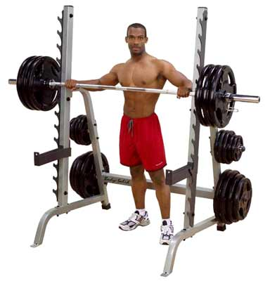 BODYSOLID - MultiPress Rack Deluxe