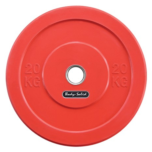 BODYSOLID - Olympic Bumper Plate Red 20 kg