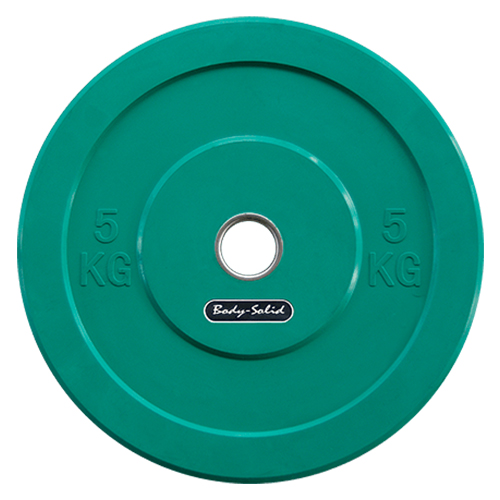 BODYSOLID - Olympic Bumper Plate Green 5 kg
