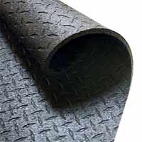 BODYSOLID Protective Rubber Flouring