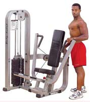 BODYSOLID CLUB LINE Chest Press Machine