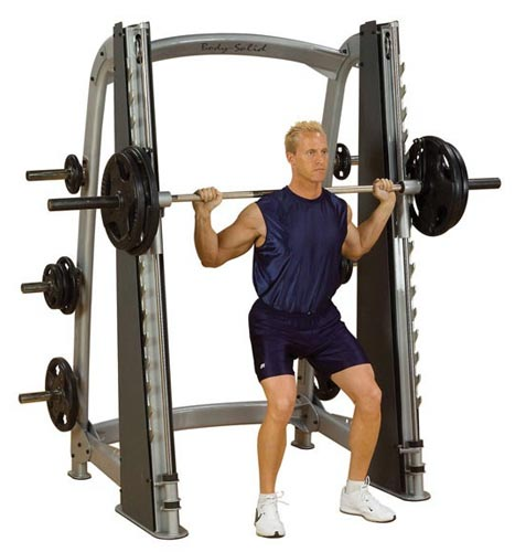 BODYSOLID CLUB LINE - Counter Balanced Smith Machine