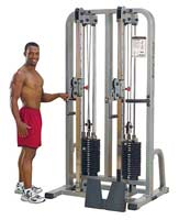 BODYSOLID CLUB LINE Double Colonne à Cable PRO