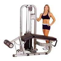 BODYSOLID CLUB LINE Leg Curl Machine