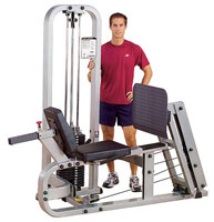 BODYSOLID CLUB LINE Leg Press Machine Presse à Cuisses Horizontale