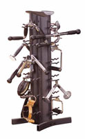 BODYSOLID ACCESSORY STORAGE RACK