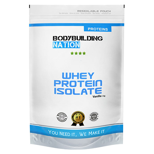 BODYBUILDING NATION - Whey Protein Isolate