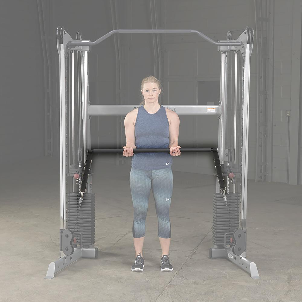 BODYSOLID - Barre pour Cross-Over