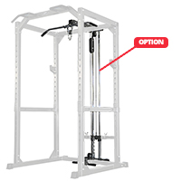 DKN Poulie Haute et Basse Option Power Rack
