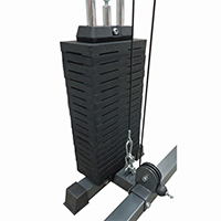 DKN Colonne de Poids 100 kg option Power Rack