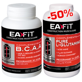EA FIT - BCAA Pure Glutamine