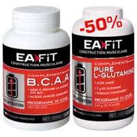 EA FIT BCAA Pure Glutamine