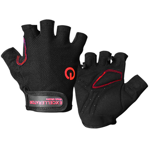 Excel Fitness Gloves: EXCELLERATOR Fitness Gloves Black/red Taille S