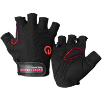 EXCELLERATOR Fitness Gloves black/red Taille S