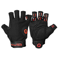 EXCELLERATOR Weightlifting gloves Black/Red Taille L