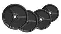 FITNESS DOCTOR Pack Poids Olympiques 110 kg