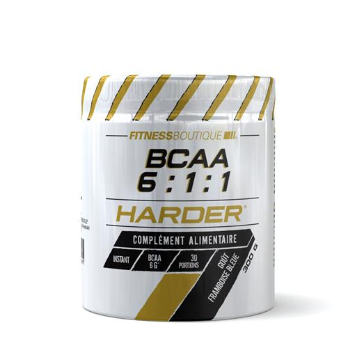 FITNESSBOUTIQUE HARDER BCAA Vegan 6:1:1