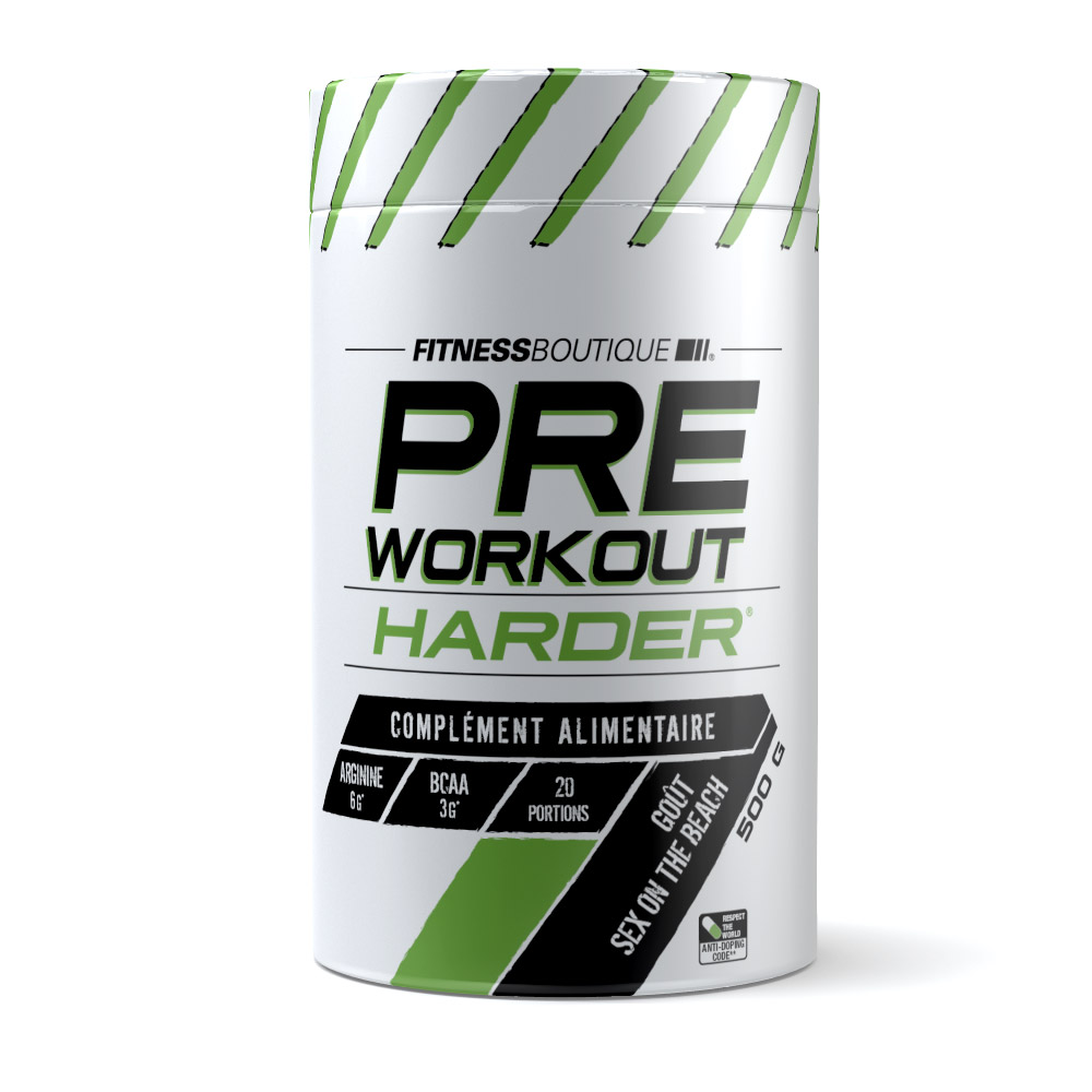 FITNESSBOUTIQUE HARDER - Pre Workout Harder