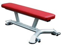 Postes isolés Flat bench