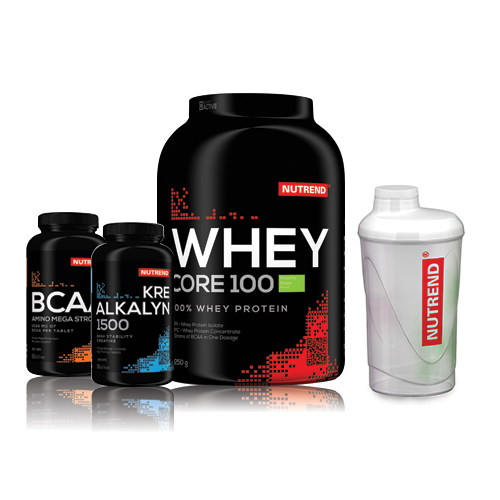 NUTREND Pack Construction Musculaire - Whey - Musculation.fr.