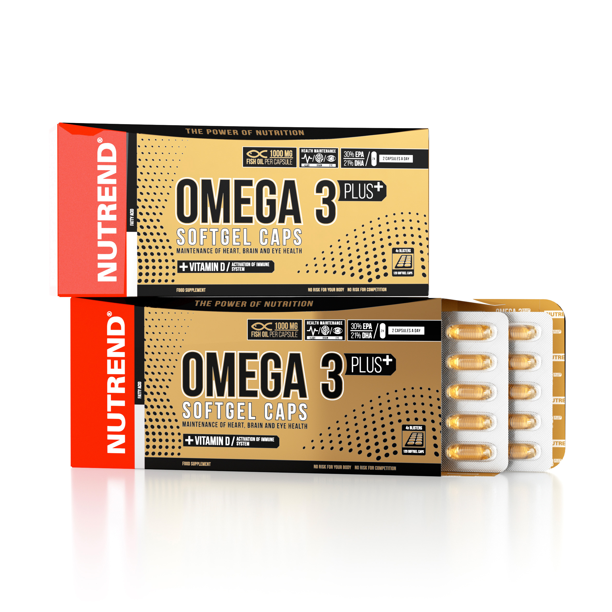 NUTREND - Omega 3 Plus Softgel Caps