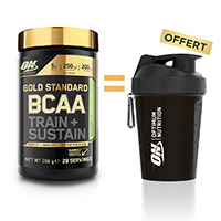 OPTIMUM NUTRITION Pack BCAA Gold Standard Train Sustain