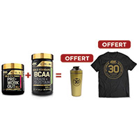 OPTIMUM NUTRITION Pack Anniversaire Work Out BCAA Gold Standard