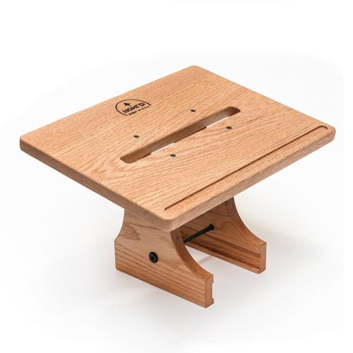 WATERROWER Support tablette, ordinateur Chêne