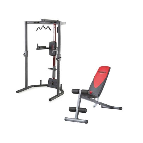 WEIDER Pack Power Rack + Banc Pro 255 L
